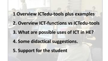ICT in HE